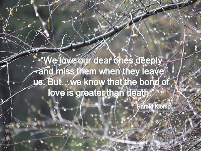Klemp - Miss our dear ones